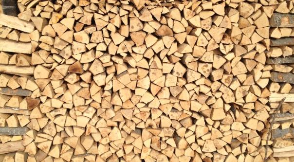 Le bois de feu à Cergnement